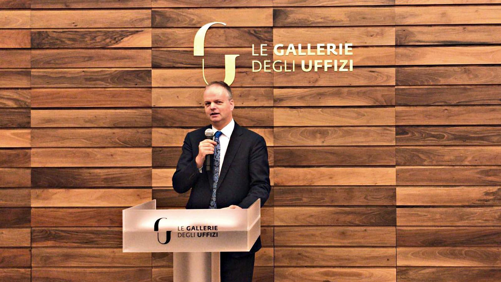 Il direttore della Galleria degli Uffizi Eike Schmidt