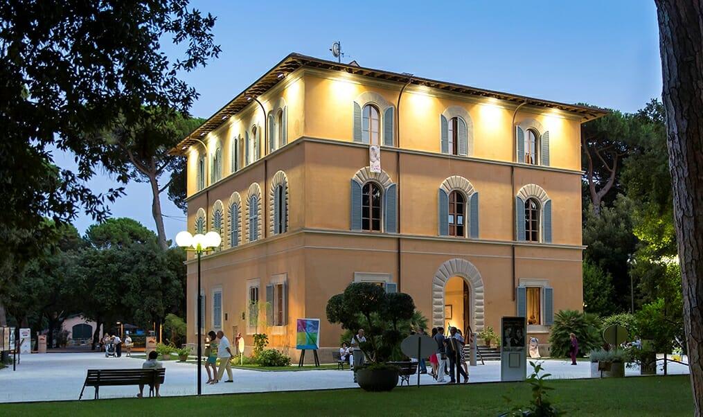 La sede della Fondazione Versiliana