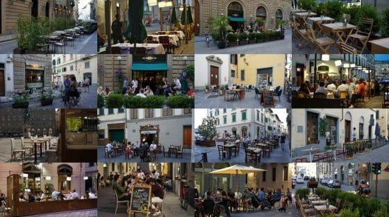 Tavolini, Confcommercio: hanno dato inattesa vivacità a piazze e strade Firenze