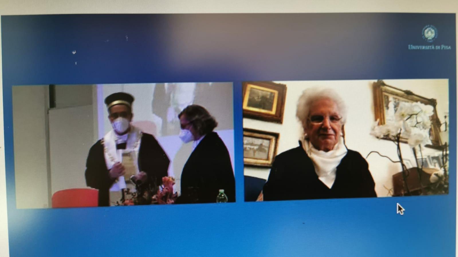 liliana segre laurea honoris
