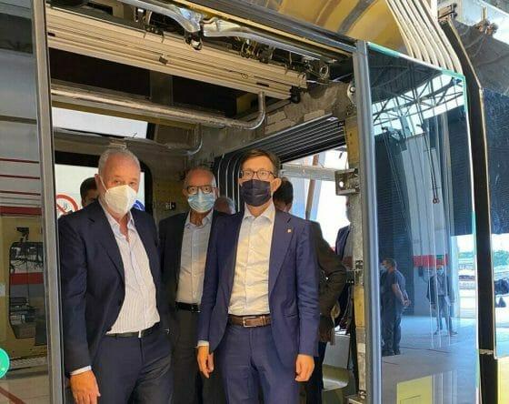 Tramvia: Nardella, a Firenze primo mezzo a batterie