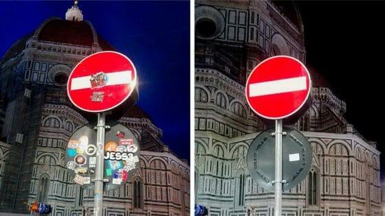 🎧 Restyling per 3800 cartelli e oggetti stradali nel centro storico