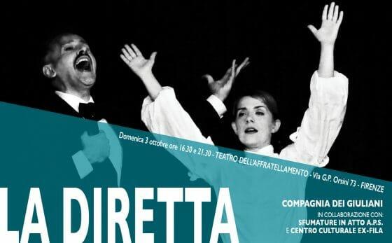 La Diretta – monodramma satirico sul narcisismo maschile al Teatro dell'Affratellamento